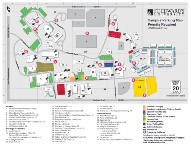 lourdes university campus map Campus Map Navigating New College lourdes university campus map
